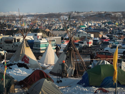 Protests Continue At Standing Rock Sioux Reservation Over Dakota Pipeline Access Project