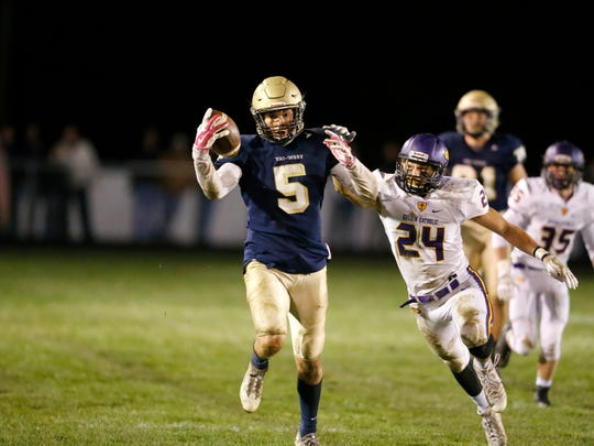 Tri-West tight end Peyton Hendershot is committed to IU.