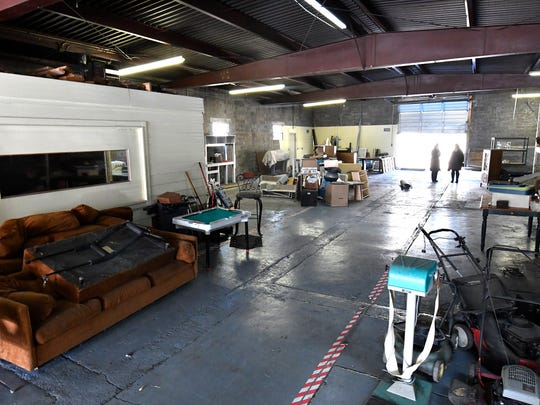 The interior of what will soon be the new Falls Art Foundry, Thursday, Dec. 08, 2016 in Louisville Ky.