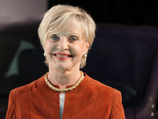 Actress Florence Henderson, known most for her role