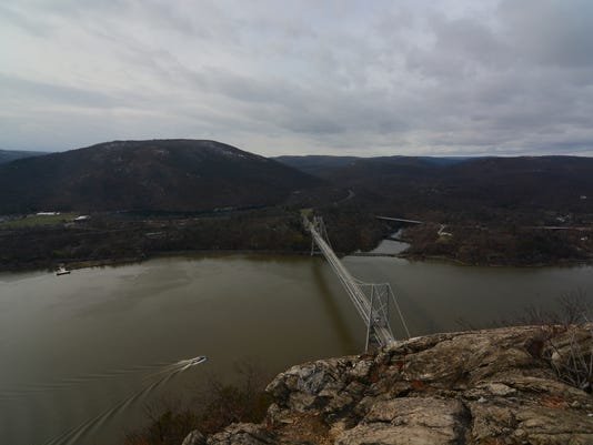 Bear Mountain Bridge, seen from Anthony's Nose