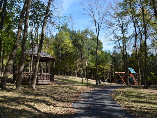 Half of the 100 acres in Turnberry's Glen Abbey subdivision in Brentwood is open space and woodland. The neighborhood features a private park, a playground and trails.