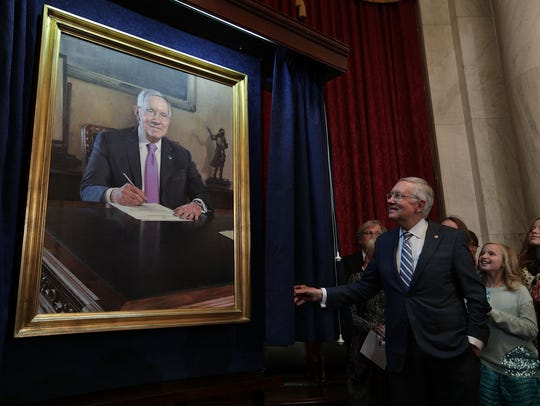 Harry Reid leaves Senate with a legacy that will help Trump