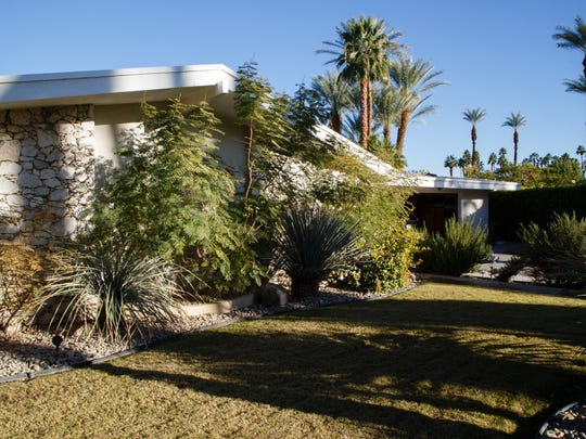 Historians discovered that four homes on Mottle Circle in Rancho Mirage, including one photographed here Monday, Dec. 19, 2016, were designed by Hugh Kaptur.