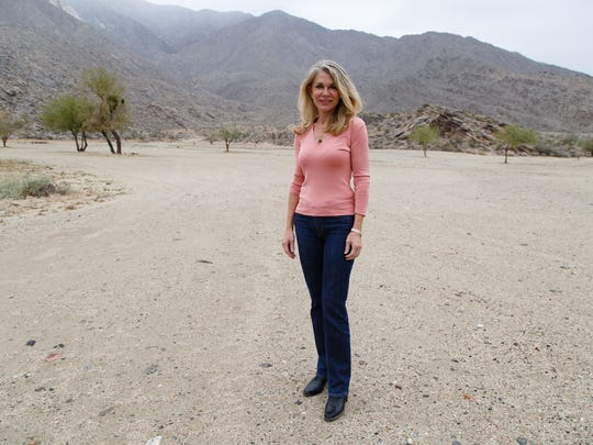 Producer and actress Denise DuBarry is photographed at one of the Palm Spings locations where Do it or Die was shot, Wed., Dec. 21, 2016.