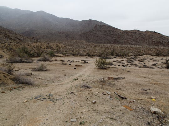 """""""The Race Track"""", located at the base of the Agua Caliente Indian Canyons in Palm Springs, is one of the locations where Do it or Die was shot, Wed., Dec. 21, 2016."""