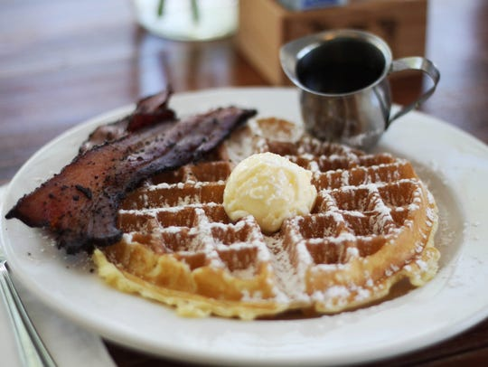 The thick-cut bacon, fluffy pancakes and from-scratch waffles at this local breakfast spot have created a loyal following from Matt Pool.