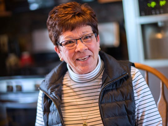 Former Broome County Executive Debbie Preston speaks during an interview at her Conklin home on Wednesday, Jan. 4, 2017.