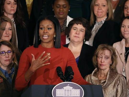 WASHINGTON, DC - JANUARY 06:  U.S. first lady Michelle