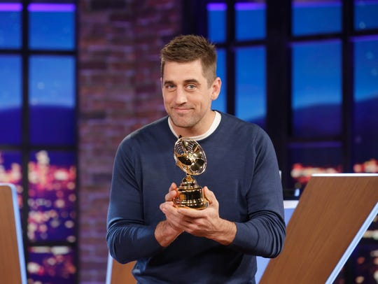 Aaron Rodgers competes with his super fans in the new