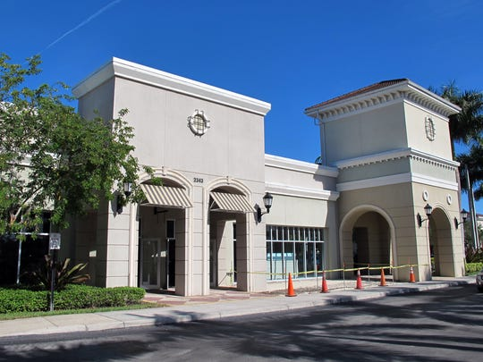 The Cave, a new wine bar and bistro, is targeted to open this spring at this location in the Galleria Shoppes at Vanderbilt in North Naples.