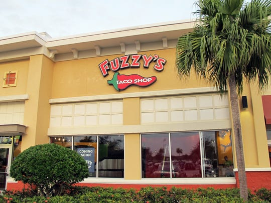 Fuzzy's Taco Shop is targeted to open Jan. 23 in Tarpon Bay Plaza off Immokalee Road in North Naples.