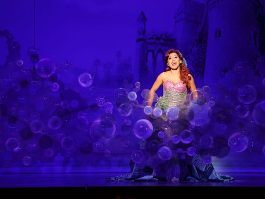 """Diana Huey stars in the title role of """"Disney's The Little Mermaid."""""""