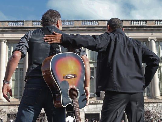 Springsteen Obama