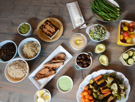 The key to a successful build-your-own-power-bowl spread