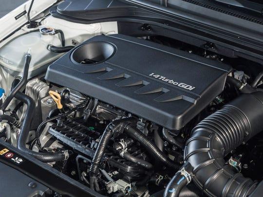 2017 Hyundai Elantra Eco 1.4L turbocharged 4-cyl