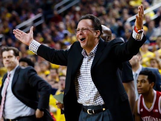 NCAA Basketball: Indiana at Michigan