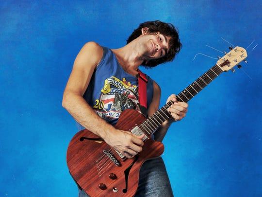 Indie-rock guitarist Delicate Steve plays Sunday at ArtsRiot in Burlington.