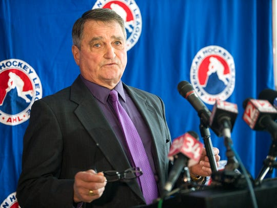 Tom Mitchell has been a figure in Binghamton professional hockey since the 1980s.