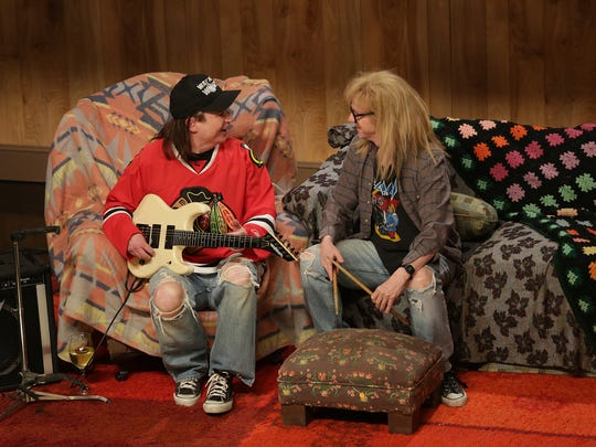 Mike Myers and Dana Carvey brought back their Wayne
