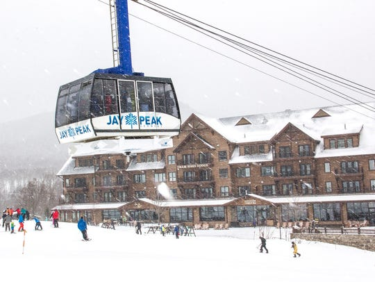 Jay Peak resort in February 2017.