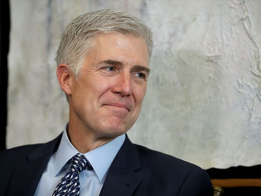 Trump's Supreme Court Nominee Neil Gorsuch Meets With Senators On Capitol Hill