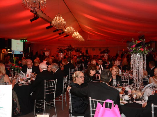 The Marco Island unit of the American Cancer Society held the annual Imagination Ball Saturday evening in the Marriott's tent pavilion, raising funds to fight cancer.