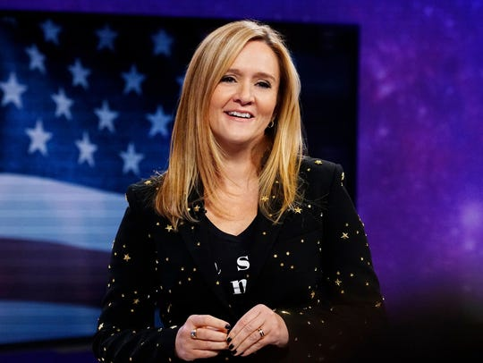 Samantha Bee hosts 'Full Frontal with Samantha Bee'