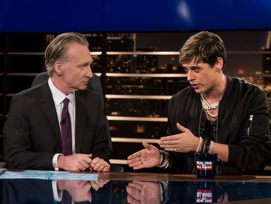 AP TV MAHER YIANNOPOULOS A ENT USA CA
