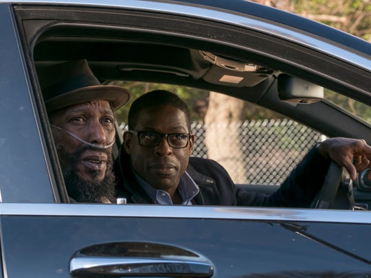 William (Ron Cephas Jones), left, and Randall (Sterling K. Brown) go on a father-son road trip on NBC's 'This Is Us.'