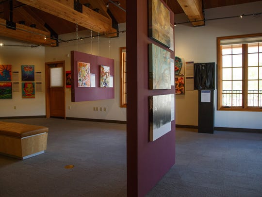 The La Quinta Museum exhibits the work of female artists