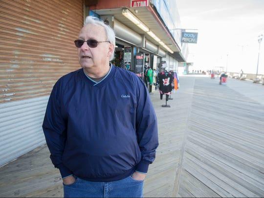 Bernt Hage is reopening Berkeley Sweet Shop on the Seaside Heights boardwalk, renamed Berkeley Candy Co.