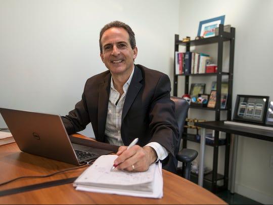Bob Gold runs GoMo Health, a health care technology company in Asbury Park.
