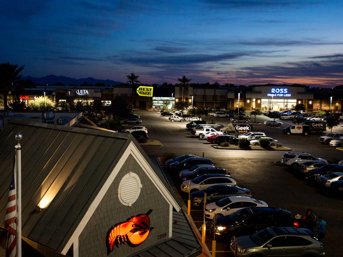 Chain restaurants and stores have an overwhelming presence