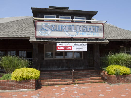 The Surflight Theatre in Beach Haven as it appeared in July 2015, its doors closed that summer  season.