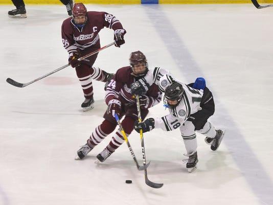 Don Bosco vs. Delbarton hockey
