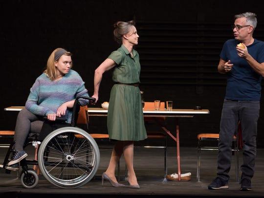 "Madison Ferris, Sally Field and Joe Mantello in ""The"