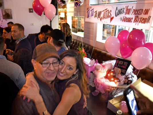 This Philly woman got breast cancer, then threw her breasts a goodbye party