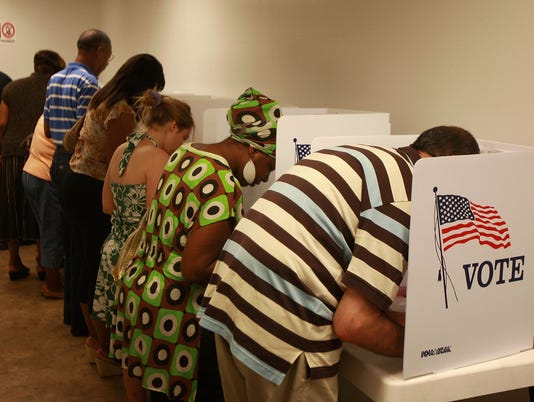 California Citizens Take Part In Early Voting