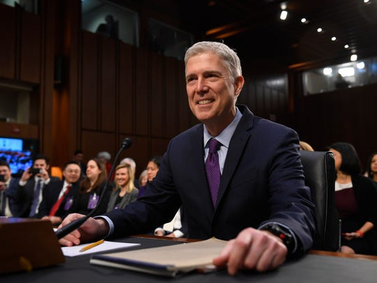 Supreme Court nominee Neil Gorsuch parried questions