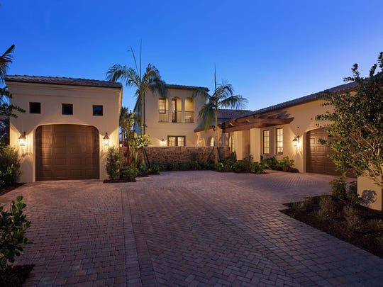 The Capriano by London Bay Homes in Mediterra's Lucarno neighborhood was an award winner.