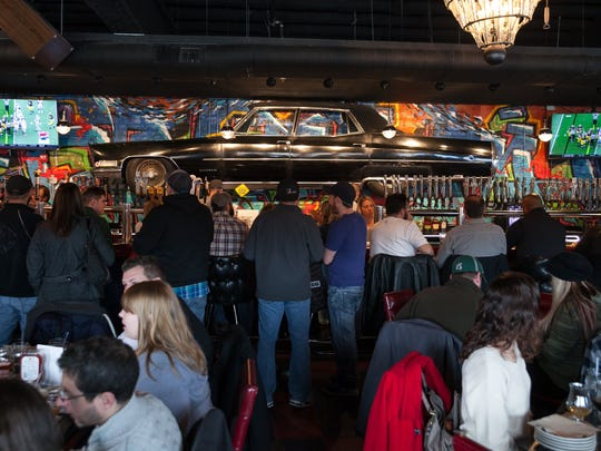 The Huma Room at HopCat Detroit had 30 different varieties