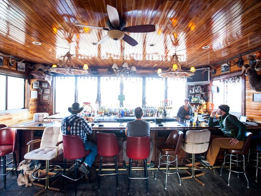 The Lucky Spur Saloon in Kingston, Nev., is perhaps