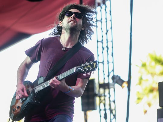 Conor Oberst performs with band Desaparecidos performs