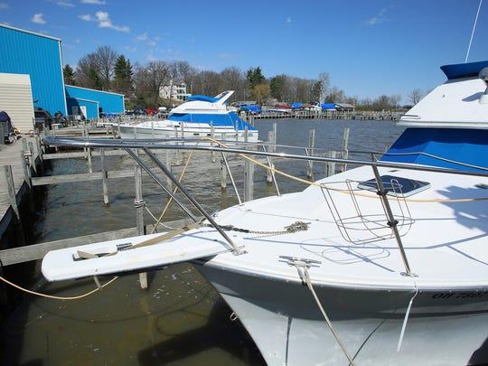 Buckeye Lake Marina in Millersport has started placing