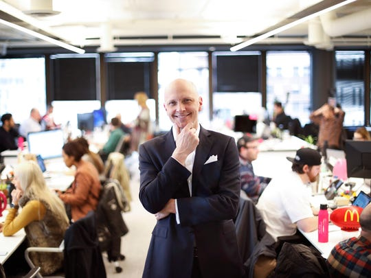 Brian Nienhaus is CEO of We Are Unlimited, McDonald's new standalone advertising agency.