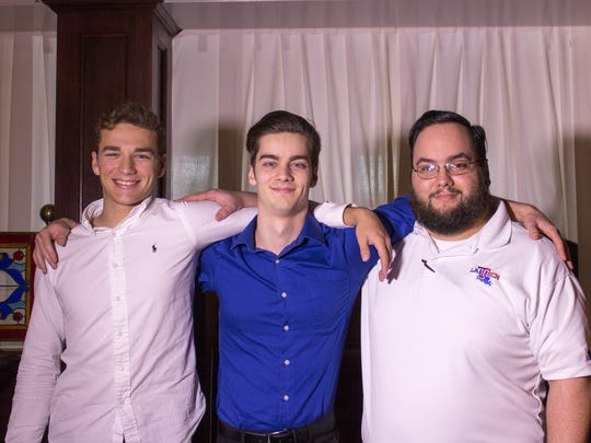 Joe and Rene's sons – Benjamin (Ben) Cascio, Carter Cascio and Joe David Cascio
