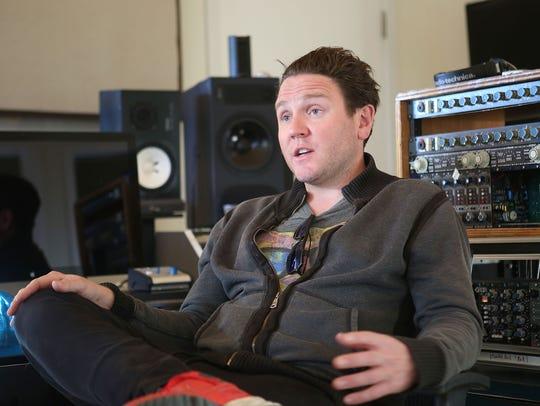 Rocco Gardner operates the recording studio called