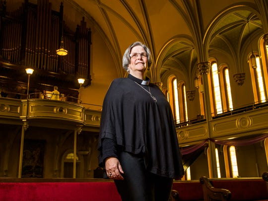 Rev. Kimberly Chastain of the United Presbyterian Church