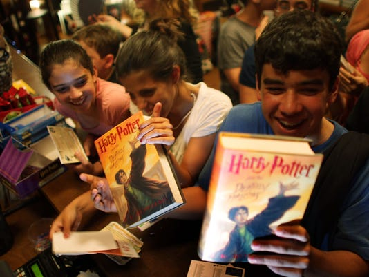 "Final ""Harry Potter"" Book Goes On Sale"